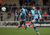 Joe Jacobson of Wycombe Wanderers during the Sky Bet League 2 match between Wycombe Wanderers and Barnet at Adams Park, High Wycombe, England on 22 October 2016. Photo by Andy Rowland.