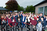 OPENING: Fr Patsy Lynch (St Brenda's Church,Tralee) who offiacally opened the new section to St Itas and St Josephs Primary School, Tralee on Wednesday.