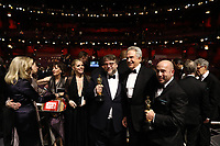 Guillermo del Toro, Guest (left), Warren Beatty and J. Miles Dale (right) pose with the Oscar&reg; for best motion picture for work on &ldquo;The Shape of Water&rdquo; during the live ABC Telecast of the 90th Oscars&reg; at the Dolby&reg; Theatre in Hollywood, CA on Sunday, March 4, 2018.<br /> *Editorial Use Only*<br /> CAP/PLF/AMPAS<br /> Supplied by Capital Pictures