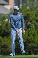 Julian Suri (USA) watches his putt on 10 during Round 4 of the Valero Texas Open, AT&amp;T Oaks Course, TPC San Antonio, San Antonio, Texas, USA. 4/22/2018.<br /> Picture: Golffile | Ken Murray<br /> <br /> <br /> All photo usage must carry mandatory copyright credit (&copy; Golffile | Ken Murray)