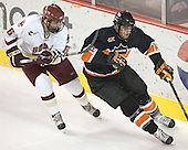 Tim Kunes, Kevin Westgarth - Boston College defeated Princeton University 5-1 on Saturday, December 31, 2005 at Magness Arena in Denver, Colorado to win the Denver Cup.  It was the first meeting between the two teams since the Hockey East conference began play.