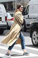 MAY 02 Mandy Moore Seen In New York City