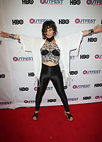 """LOS ANGELES, CA- ANML, At 2017 Outfest Los Angeles LGBT Film Festival - Closing Night Gala Screening Of """"Freak Show"""" at The Theatre at Ace Hotel, California on July 16, 2017. Credit: Faye Sadou/MediaPunch"""
