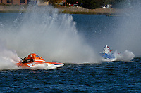 "Chris Ritz, Y-2 ""Orange Crate"", Keith McMullen, Y-80 ""Outlaw""                (1 Litre MOD hydroplane(s)"