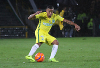 BOGOTA -COLOMBIA, 25-02-2017.Macnelly Torres player of Atletico Nacional.Action game between  La Equidad and Atletico Nacional during match for the date 5 of the Aguila League I 2017 played at Ne stadium . Photo:VizzorImage / Felipe Caicedo  / Staff