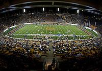 October 6th, 2012: California Bears vs UCLA Bruins Kick-off to start the game at Memorial Stadium, Berkeley, Ca    California defeated UCLA 43 - 17