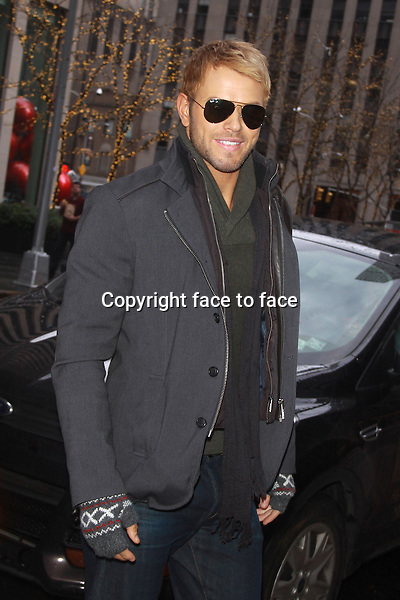 NEW YORK, NY - JANUARY 6: Kellan Lutz seen on the streets of New York City on January 6, 2013. Credit: RW/MediaPunch Inc.<br />