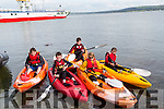 Taking part in the Kayak race on Sunday at Tarbert Pier wwere, Andrew Purcell,Caoimhe Pyne, Joshua Quinlan,Nathan and Daniel Meaney