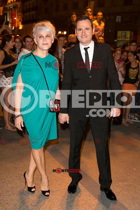 Antonia San Juan and Luis Segui attends the party of Nike and Roberto Tisci at the Casino in Madrid, Spain. September 15, 2014. (ALTERPHOTOS/Carlos Dafonte) /NortePhoto.com