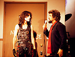 Alice Cooper 1979 with Wolfman Jack on Midnight Special.© Chris Walter.