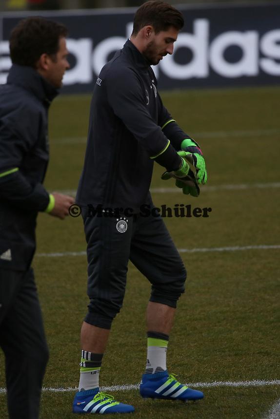 Kevin Trapp - Training der Deutschen Nationalmannschaft, Wurfplatz Berlin