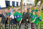 Marcus Howlett Race director and Brendan Kennelly Kerry's Eye launch the Kerry's Eye Tralee International Marathon 2014 along with Mayor Pat Hussey and Supt Jim O'Connor and members of the born to run club at the Brandon Hotel Tralee on Tuesday.