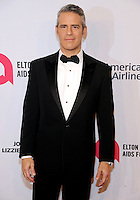 NEW YORK, NY - NOVEMBER 02:  Andy Cohen attends 15th Annual Elton John AIDS Foundation An Enduring Vision Benefit at Cipriani Wall Street on November 2, 2016 in New York City.Photo by John Palmer/ MediaPunch