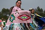 """Fancy Dancer"" at the 8th Annual Red Wing Native American PowWow"