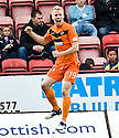 DUNDEE UTD'S LAURI DALLA VALLE CELEBRATES AFTER HE SCORES UNITED'S SECOND
