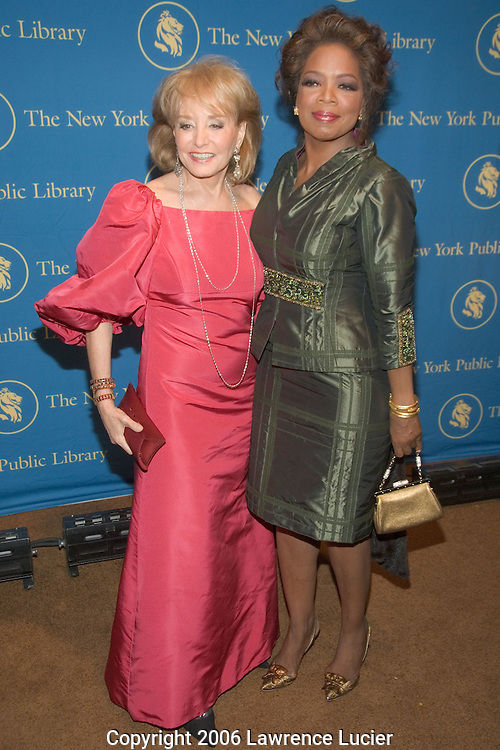 Barbara Walters and Oprah Winfrey