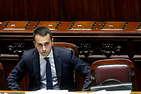 Luigi Di Maio<br /> Roma 02/08/2018. Camera. Discussione generale sul Decreto Dignita'.<br /> Rome August 2nd 2018. Chamber of Deputies. Discussion about 'Dignity Decree'.<br /> Foto Samantha Zucchi Insidefoto