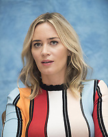Emily Blunt at the Mary Poppins Returns press conference at the Four Seasons Hotel, Beverly Hills, USA - 29 Nov 2018. Credit: Action Press/MediaPunch ***FOR USA ONLY***