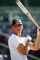 Tony Torcato of the Bakersfield Blaze during a California League baseball game circa 1999. (Larry Goren/Four Seam Images)