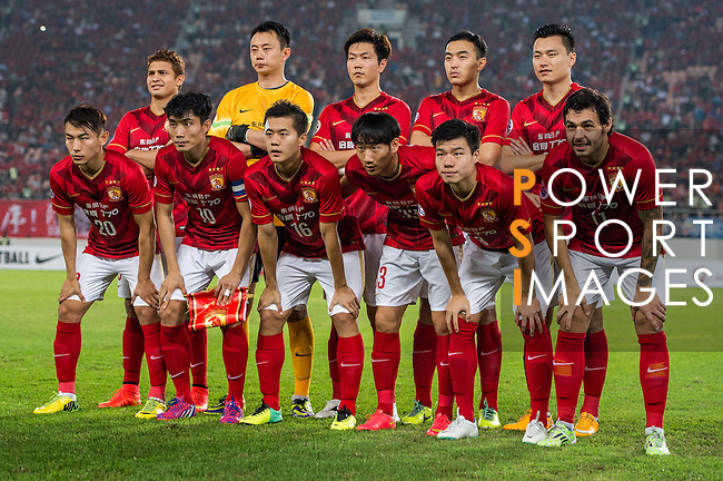 Guangzhou Evergrande vs Kashima Antlers during the AFC Champions League 2015 Group Stage H match on 17 March, 2015 at  Guangzhou Tianhe Sport Center in Guangzhou, China. Photo by Aitior Alcalde / Power Sport Images