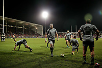 Action from the Game of Three Halves match between the NZ All Blacks and Otago at AMI Stadium in Christchurch, New Zealand on Friday, 10 August 2018. Photo: Martin Hunter / lintottphoto.co.nzz