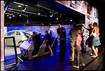Il rinnovato Museo dell'Automobile, nell'allestimento di Francois Confino.