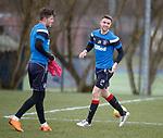 30.3.2018: Rangers training:<br /> Jordan Rossiter