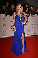 Zara Holland<br /> Arrivals at the National Television Awards 2018 at The O2 Arena on January 23, 2018 in London, England. <br /> CAP/Phil Loftus<br /> &copy;Phil Loftus/Capital Pictures