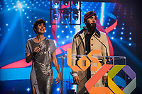 MADRID, SPAIN - NOVEMBER 10: Paz Vega and Jared Leto at the 40 Music Awards press room at WiZink Center on November 10, 2017 in Madrid, Spain. ***NO SPAIN***<br /> CAP/MPI/RJO<br /> &copy;RJO/MPI/Capital Pictures