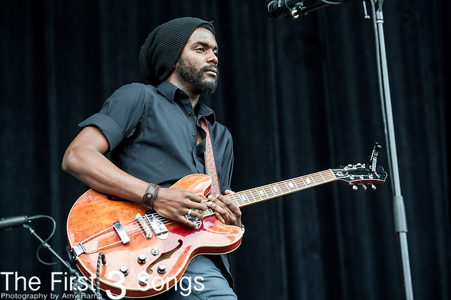 Gary Clark Jr. performs at the Outside Lands Music & Art Festival at Golden Gate Park in San Francisco, California.