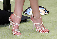 """LOS ANGELES - AUG 5: Close up of  Anna Kendrick's shoes as she arrives at the """"ParaNorman"""" Premiere at Universal CityWalk on August 5, 2012 in Universal City, CA ©mpi27/MediaPunch Inc"""