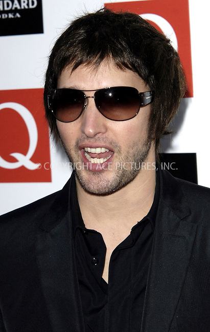 WWW.ACEPIXS.COM . . . . .  ..... . . . . US SALES ONLY . . . . .....October 26 2009, London....James Blunt arriving at the Q Awards 2009 at the Grosvenor House Hotel on October 26, 2009 in London, England.......Please byline: FAMOUS-ACE PICTURES... . . . .  ....Ace Pictures, Inc:  ..tel: (212) 243 8787 or (646) 769 0430..e-mail: info@acepixs.com..web: http://www.acepixs.com