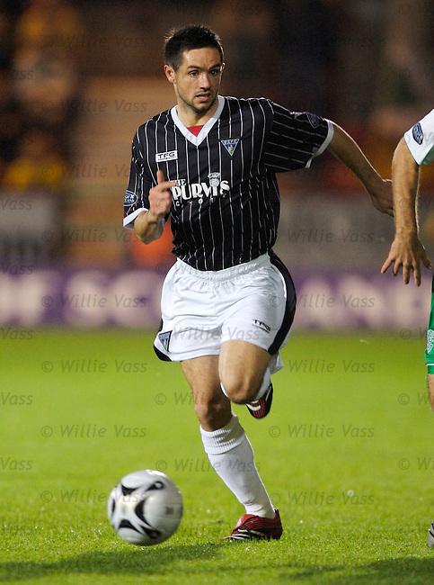 Gary Mason, Dunfermline.stock season 2006-2007.pic willie vass
