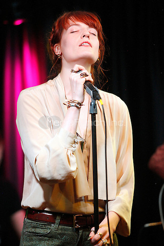 BALA CYNWYD, PA - SEPTEMBER 18: Florence And The Machine visit Radio 104.5's iHeart Radio Performance Theater in Bala Cynwyd, Pa on September 18, 2012  © Star Shooter / MediaPunchInc