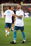 Supercopa de Espa&ntilde;a - Ida.<br /> FC Barcelona vs R. Madrid: 1-3.<br /> Sergio Ramos.