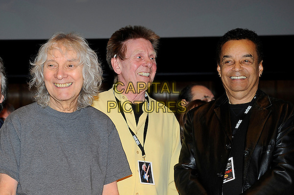 LONDON, ENGLAND - March 1: Albert Lee, Joe Brown and Gary US Bonds at the Albert Lee 70th Birthday Celebration concert at Cadogan Hall on March 1, 2014 in London, England<br /> CAP/MAR<br /> &copy; Martin Harris/Capital Pictures