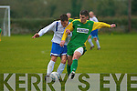 Kerry's Chris Kerins and Limerick's Mark Sheehan.   Copyright Kerry's Eye 2008