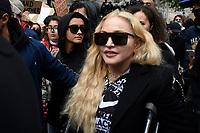 JUN 06 Madonna at Black Lives Matter protest in London