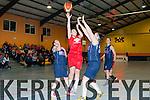 Eabhnait Scanlon St Marys attacks the NUIG board under pressure from NUIG Ailish O'Reilly in Castleisland on Saturday night