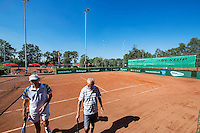 Etten-Leur, The Netherlands, August 23, 2016,  TC Etten, NVK, court with boarding<br /> Photo: Tennisimages/Henk Koster