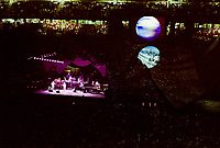 The Grateful Dead Live in Concert at Giants Stadium June 16, 1991. Full Set, Lights and Stage Design Capture Image. Version 01 More Stage Detail