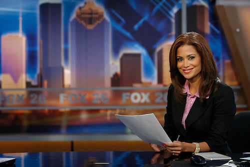 Sibila Vargas is the new morning anchor for KRIV Ch. 26 News. She will start on Monday, Oct. 1.  (Thursday, Sept. 27, 2007, in Houston. ( Steve Campbell / Chronicle)