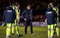 Bolton Wanderers' Keith Hill pictured at the end of the match<br /> <br /> Photographer Andrew Kearns/CameraSport<br /> <br /> The EFL Sky Bet League One - Lincoln City v Bolton Wanderers - Tuesday 14th January 2020  - LNER Stadium - Lincoln<br /> <br /> World Copyright © 2020 CameraSport. All rights reserved. 43 Linden Ave. Countesthorpe. Leicester. England. LE8 5PG - Tel: +44 (0) 116 277 4147 - admin@camerasport.com - www.camerasport.com