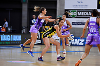 Pulse' Karin Burger in action during the ANZ Premiership - Pulse v Stars at Te Rauparaha Arena, Porirua, New Zealand on Wednesday 3 April 2019. <br /> Photo by Masanori Udagawa. <br /> www.photowellington.photoshelter.com