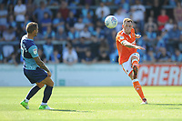 Blackpool's Harry Pritchard<br /> <br /> Photographer Kevin Barnes/CameraSport<br /> <br /> The EFL Sky Bet League One - Wycombe Wanderers v Blackpool - Saturday 4th August 2018 - Adams Park - Wycombe<br /> <br /> World Copyright &copy; 2018 CameraSport. All rights reserved. 43 Linden Ave. Countesthorpe. Leicester. England. LE8 5PG - Tel: +44 (0) 116 277 4147 - admin@camerasport.com - www.camerasport.com