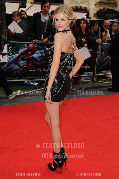 "Donna Air arriving for the premiere of ""The Amazing Spider-Man"" at the Odeon Leicester Square, London. 18/06/2012 Picture by: Steve Vas / Featureflash"