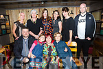 Christine Doyle-Farrell, Cahermoneen Tralee, celebrates her 40th birthday with family at No.4 the Square on Saturday. Pictured front l-r Justin Ryan, Kitty Farrell, Christine Doyle Farrell, Jack Doyle. Back Cas Farrell, Fran Parker,  Ruth Flaherty, Vivienne Martin, Marion Ryan, Mike Doyle