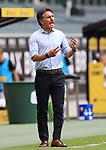 Berlins Trainer Bruno Labbadia -<br /><br />27.06.2020, Fussball, 1. Bundesliga, Saison 2019/2020, 34. Spieltag, Borussia Moenchengladbach - Hertha BSC Berlin,<br /><br />Foto: Johannes Kruck/POOL / via / Meuter/Nordphoto<br />Only for Editorial use