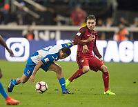 San Jose, Ca - Friday March 24, 2017: Jorge Villafaña during the USA Men's National Team defeat of Honduras 6-0 during their 2018 FIFA World Cup Qualifying Hexagonal match at Avaya Stadium.
