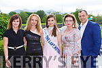 Magdalena Sikora, Maria Bednarz, Dominika Bednarz, Marlena nabulska and Radek Synowiecki Tralee at the Lily of Killarney on Friday night in the Gleneagle Hotel